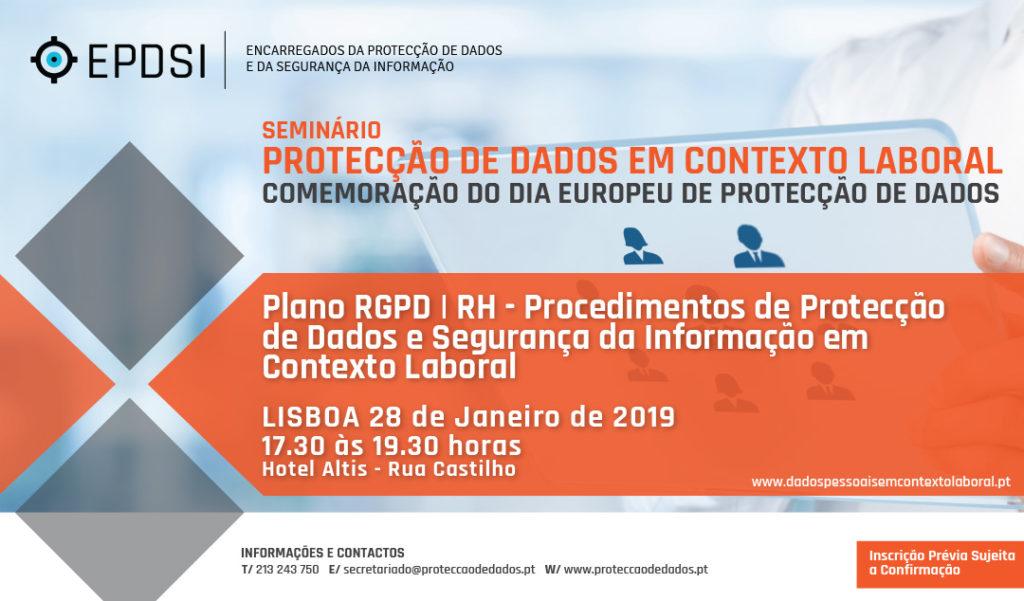 Protecção de Dados em Contexto Laboral - Plano RGPD